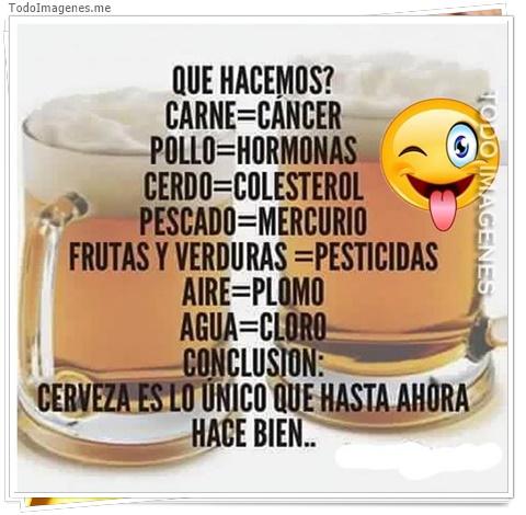 QUE HACEMOS? CARNE-CANCER, POLLO-HORMONAS, CERDO-COLESTEROL...