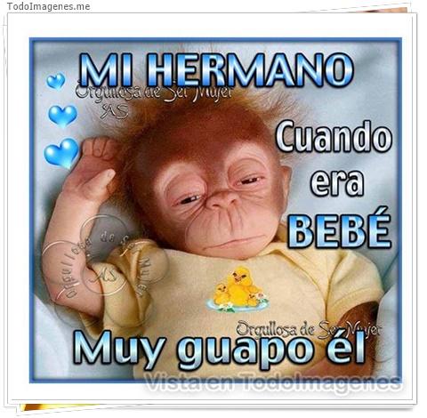 MI HERMANO CUANDO ERA BEBE MUY GUAPO EL
