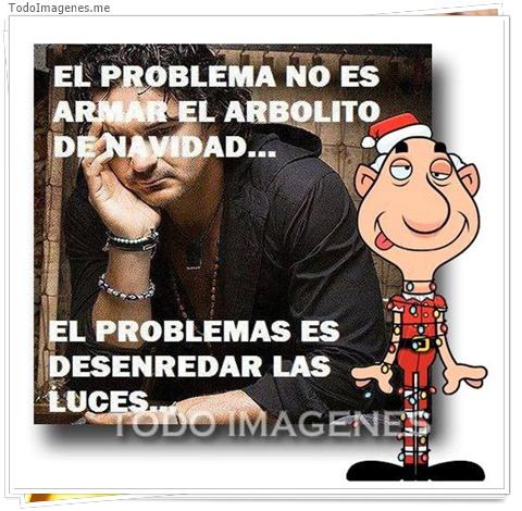 ELPROBLEMA NO ES ARMAR EL ARBOLITO DE NAVIDAD...EL PROBLEMA ES DESENREDAD LAS LUCES