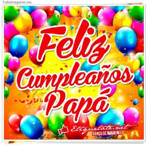 Feliz Cumpleaños Papá