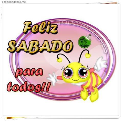 Feliz SABADO para todos !!